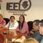 REGISTRA PRI PLATAFORMA ELECTORAL ANTE EL IEE