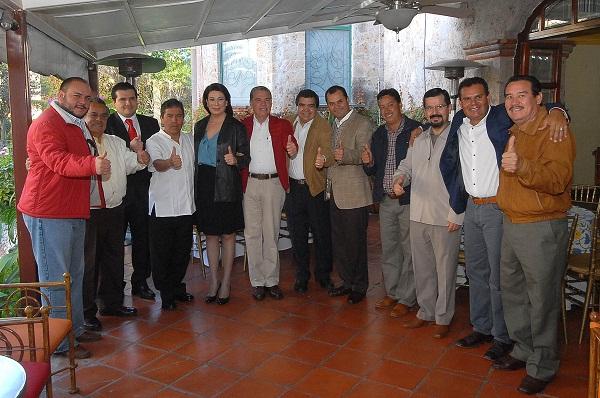 Reunión Delegado del PRI y Presidentes Municipales