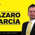 PRE CANDIDATO LAZARO GARCIA
