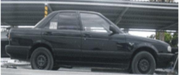 nissan tsuru 1994 color negro