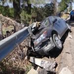 ACCIDENTE EN LA CARRETERA CALVILLO-JALPA SIN LESIONADOS