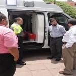 CALVILLO RECIBIÓ UNA NUEVA AMBULANCIA PARA ATENDER EMERGENCIAS MÉDICAS.