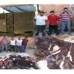 UBICACION DE RASTRO CLANDESTINO ARROJA SEIS DETENIDOS