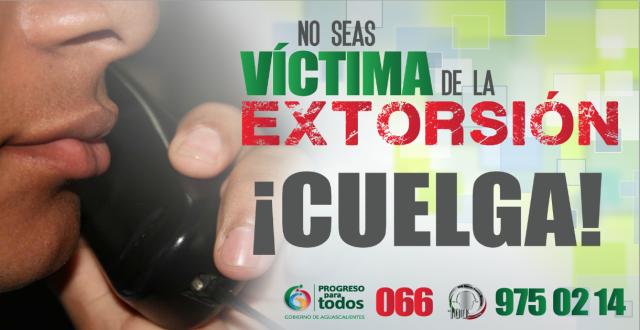 Extorsion Telefonica Campaña