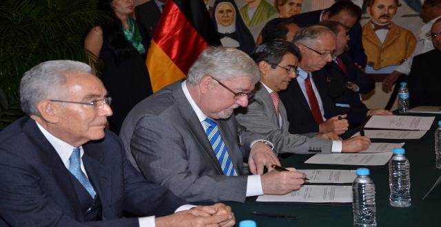 Firma de Carta Intención entre el Parlamento de Renania-Palatinado (Alemania) y el H. Congreso del Estado de Aguascalientes 1