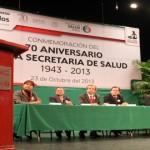 Evento Magno del 70 Aniversario de la Secretaria de Salud.