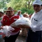 Recibe la Huasteca Potosina ayuda humanitaria de Aguascalientes ante la contingencia climatológica