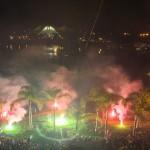 Isla San Marcos se llenó de luz con el Encuentro Nacional de Pirotecnia
