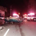 DIEZ LESIONADOS EN ACCIDENTE EN LOS ARCOS