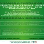 Consulta Nacional PROJUVENTUD en Aguascalientes
