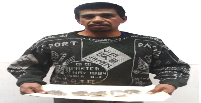 JUAN LUIS VALDEZ TISCAREÑO 33 AÑOS