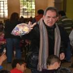 Festejaron posada 120 niños en la Ciudad de los Niños