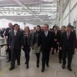 EL GOBERNADOR  PUSO EN MARCHA LA PLANTA TACHI-S TRIM EN CALVILLO