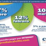 El ayuntamiento municipal de Calvillo ofreció diversos descuentos en el pago del impuesto predial.
