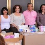 El ISSEA, entrega medicina y material de curación para la guardería del DIF estatal en la FNSM-2014.  ·       Animo e interés del ISSEA en participar en los programas del DIF