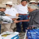 SAGARPA incrementa los apoyos a productores localizados en zonas de alta marginación