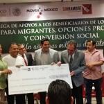 21 MILLONES DE PESOS EL PROGRAMA OPCIONES PRODUCTIVAS Y DEL 3X1 PARA MIGRANTES.