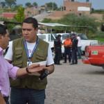 SIMULACRO DE EVACUACIÓN EN COMUNIDAD DE OJOCALIENTILLO