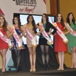 SE PRESENTARON A LAS 12 CANDIDATAS FINALISTAS A REINA DE LA FERIA NACIONAL DE SAN MARCOS 2015