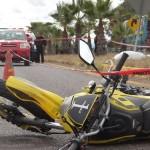 MUERE MOTOCICLISTA EN LAS CHAVEÑAS