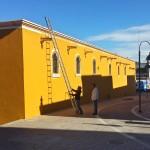 Servicios Públicos de Calvillo alistan perímetro para la Feria de Mayo