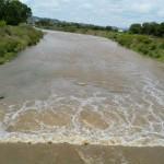 Operativo multidisciplinario de supervisión en el río Calvillo