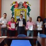LISTA DE BENEFICIARIOS DEL PROGRAMA DE BECAS DE TRANSPORTE EN CALVILLO PARA EL CILCO ESCOLAR 2015-2016