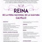 LANZAN CONVOCATORIA PARA ELECCION DE REINA DE LA GUAYABA