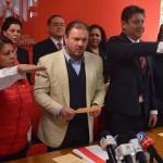 Norma Esparza y Alberto Solís son ya Presidenta y Secretario General del CDE
