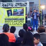Presenta Diputado Marco Arturo Delgado Martin del Campo Informe de Actividades por Calvillo