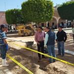 PREPARAN REHABILITACIÓN DEL CENTRO HISTÓRICO EN CALVILLO