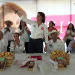 LORENA MARTÍNEZ Y CECY VALDIVIA PRESENTAN SUS COMPROMISOS CON CALVILLO