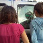 Policía Estatal detuvo a quincuagenario y dos menores de edad en poder de dos envoltorios (26 gramos) de piedra granulada al parecer crist