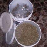 Con cinco kilos de marihuana