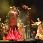 Se presentó Lila Downs con talento local de Calvillo