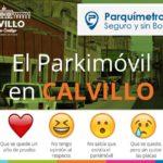 LOS HABITANTES DE CALVILLO DECIDIRÁN SOBRE LOS PARQUÍMETROS VIRTUALES EN UNA CONSULTA CIUDADANA