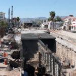 Avance del 78% registran las obras del Paso a desnivel de Av. López Mateos