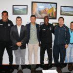 EL GOBIERNO DE CALVILLO Y EL CLUB DE FUTBOL CUERVOS JAP DE LA SEGUNDA DIVISIÓN TRABAJARÁN PARA INSTALAR UN CENTRO DE FORMACIÓN DEPORTIVA