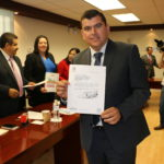 ADÁN VALDIVIA LÓPEZ ENTREGÓ AL CONGRESO DE AGUASCALIENTES EL PLAN MUNICIPAL DE DESARROLLO CALVILLO 2017-2019