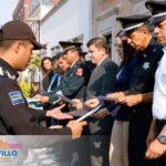 RECONOCEN A POLICÍAS MUNICIPALES