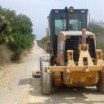 REHABILITA LA SICOM MÁS DE 41.7 KM DE CAMINOS DE TERRACERÍA EN CALVILLO