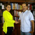 ACUERDAN GOBERNADOR Y ALCALDESA REFORZAR ESTRATEGIA DE SEGURIDAD