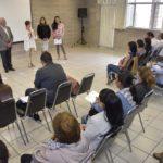 YOLANDA RAMÍREZ DE OROZCO CLAUSURA EL CURSO DE CUIDADORES COLAPSADOS