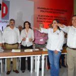 ENRIQUE JUÁREZ Y DENNIS IBARRA TOMAN PROTESTA COMO PRESIDENTE Y SECRETARIA DEL CDE DEL PRI EN AGUASCALIENTES