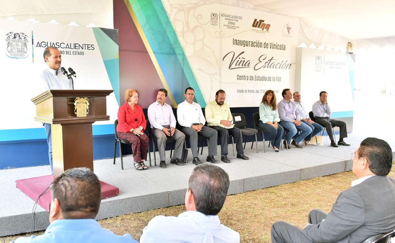 IMPULSA GOBIERNO DEL ESTADO EL REGRESO DE LA VOCACIÓN VITIVINÍCOLA DE AGUASCALIENTES
