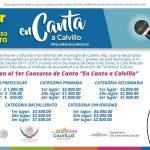 """Primer concurso de canto """"En Canta a Calvillo"""""""