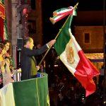 LA CEREMONIA DEL GRITO DE INDEPENDENCIA ES EL LLAMADO PARA CONSTRUIR EN UNIDAD EL MÉXICO QUE QUEREMOS: MOS