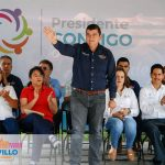 EL ALCALDE ACUDE A LA ESCUELA DEL CHIQUIHUITERO
