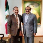 MANTIENE EL GOBERNADOR GESTIONES ANTE LA FEDERACIÓN PARA OBTENER MAYORES RECURSOS PARA AGUASCALIENTES