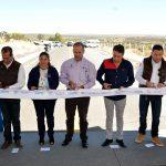 EL GOBERNADOR ENTREGA Y SUPERVISA INFRAESTRUCTURA VIAL Y SOCIAL EN SAN JOSÉ DE GRACIA POR MÁS DE 37 MDP